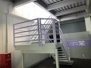 浜松市西区 T様 鉄骨階段塗装工事